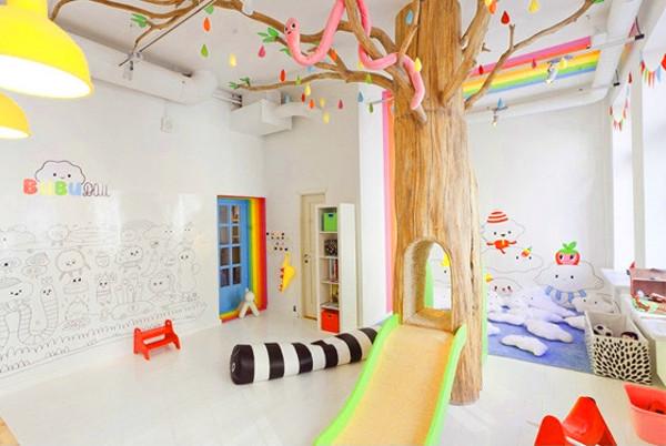 Игровая комната от дизайнера Ека Хаски