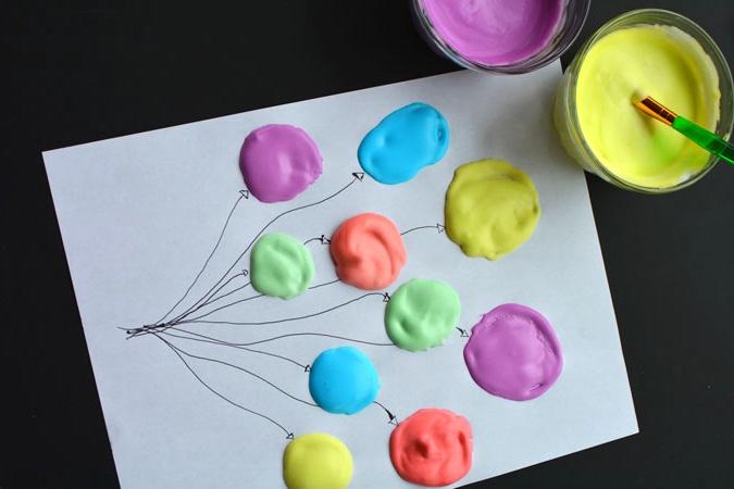 Объемные краски своими руками рецепты 85