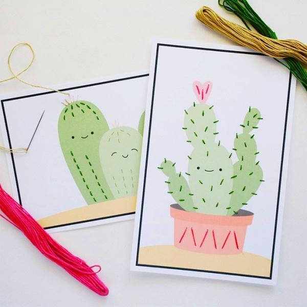 shnurovki-kaktusy-shablon-dlya-pechati