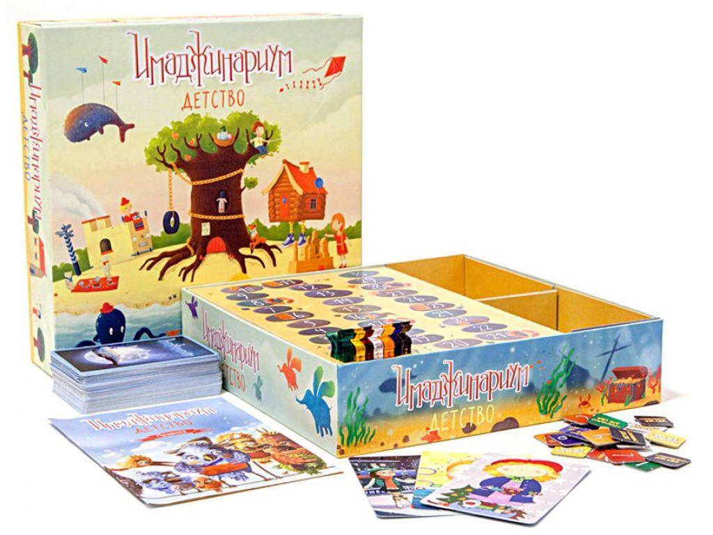 """Настольная игра """"Имаджинариум. Детство"""" для дошкольников"""
